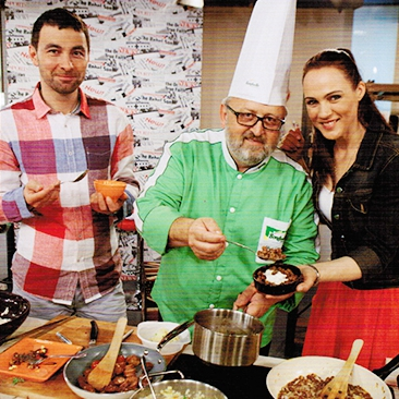 Bonduelle | Cooking in TV